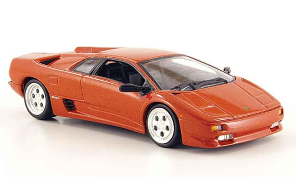 Lamborghini Diablo 1/43 Minichamps kupfer diecast