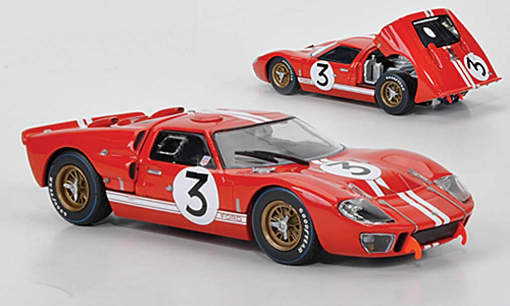 Ford GT40 1/43 Minichamps GT 40 MKII No.3 Gurney/Grant 24h Le Mans 1966 miniature