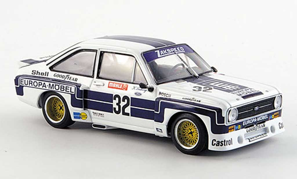 Ford Escort RS 1800 1/43 Minichamps RS 1800 II No.32 Team Zakspeed K.Ludwig DRM Supersprint Nurburgring 1976 miniature