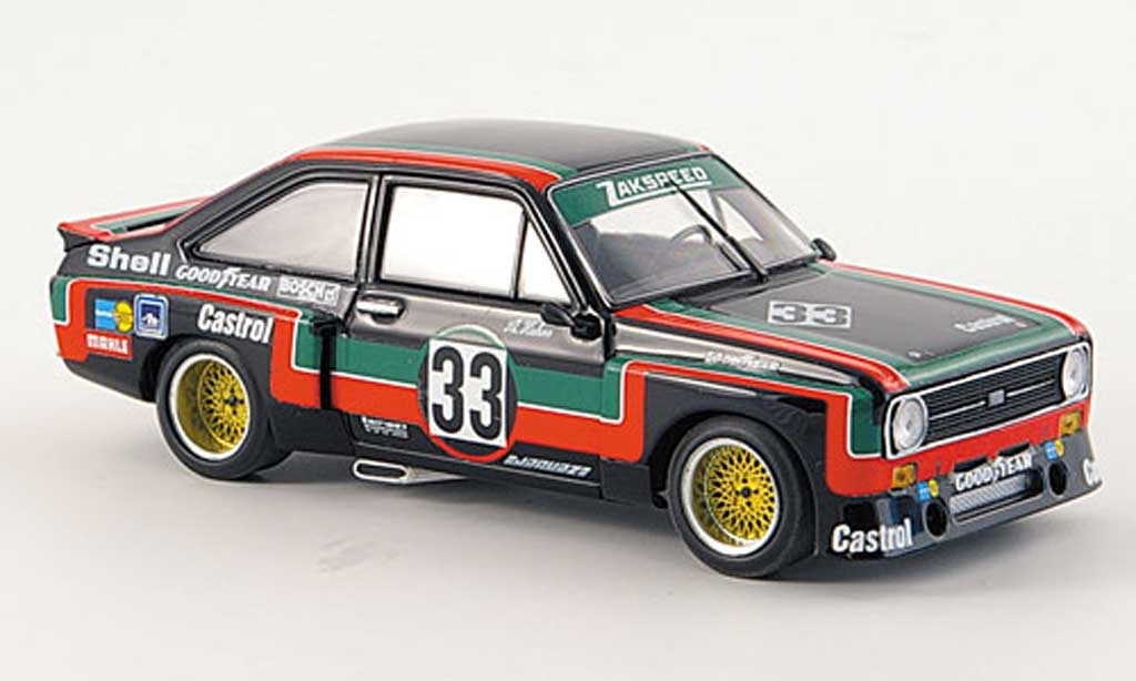 Ford Escort RS 1800 1/43 Minichamps No.33 Castrol Team Zakspeed A.Hahne DRM Supersprint Nurburgring 1976 miniature