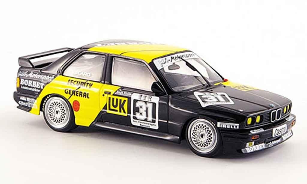 Bmw M3 E30 1/43 Minichamps Nurburgring DTM Sieger Thiim 1988 diecast model cars