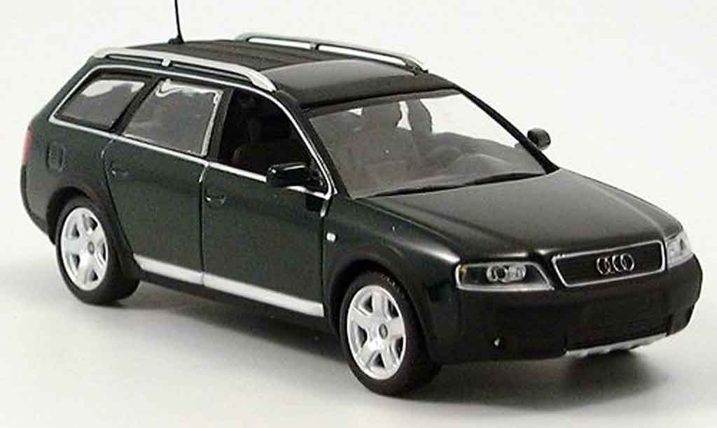 Audi A6 Allroad 1/43 Minichamps Quattro   green 2001 diecast