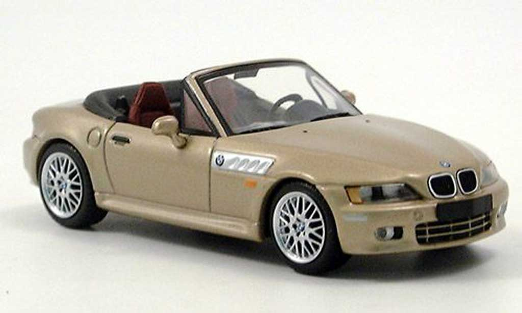 Bmw Z3 Roadster 1/43 Minichamps dore 1999 miniature