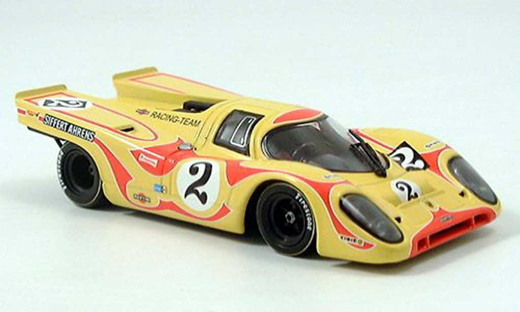 Porsche 917 1970 1/43 Minichamps No.2 Siffert / Ahrens Jr. 6h Kyalami miniature