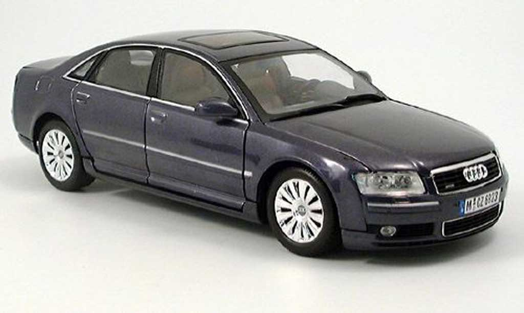 Audi A8 1/18 Motormax anthrazit miniature