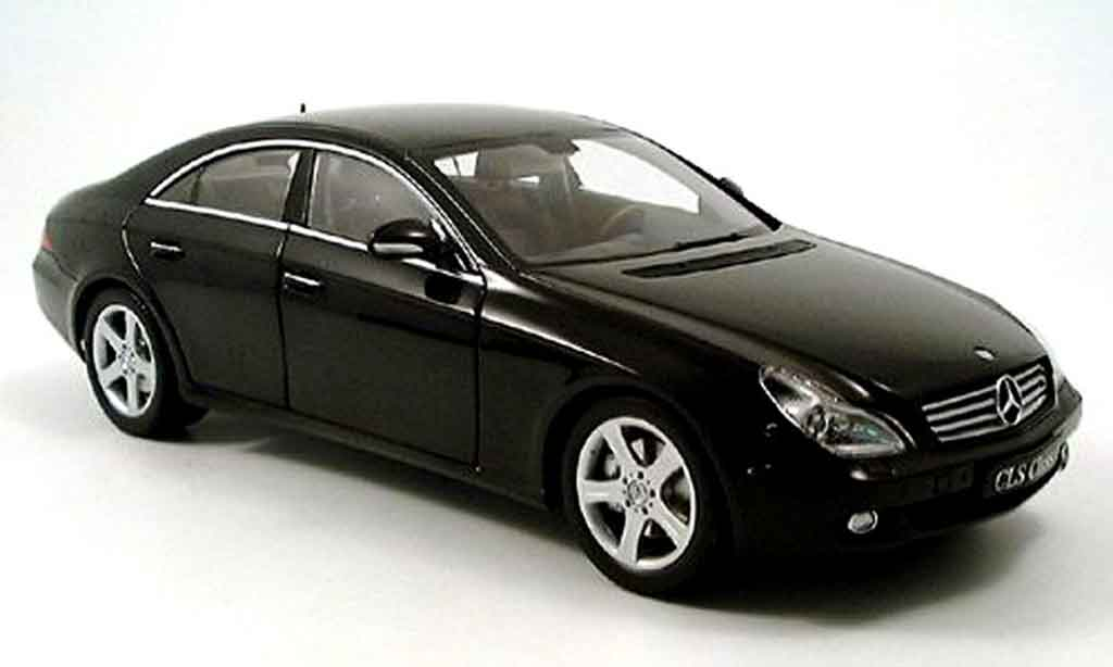 Mercedes Classe CLS 1/18 Kyosho black 2004 diecast