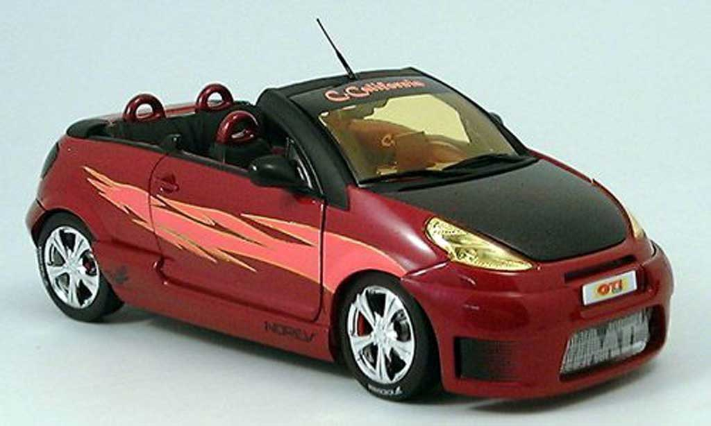 Citroen C3 California 1/18 Norev California pluriel mtk lila 2004 miniature