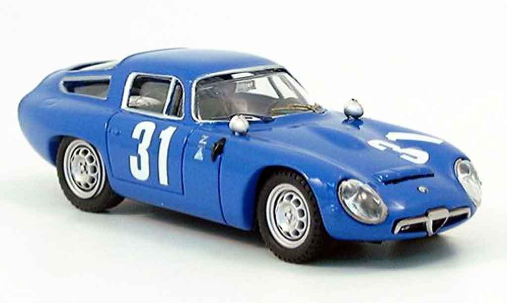 Alfa Romeo TZ1 1/43 Best no.31 monza 1965 miniature