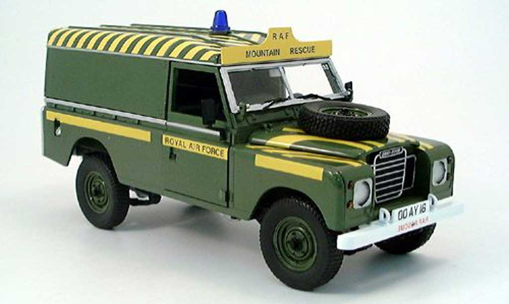Land Rover 109 1/18 Eagle iii raf  miniature
