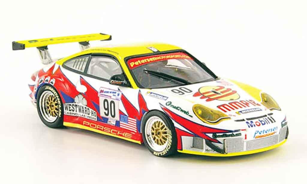Porsche 996 GT3 RSR 1/43 Minichamps LeMans 2004 diecast model cars