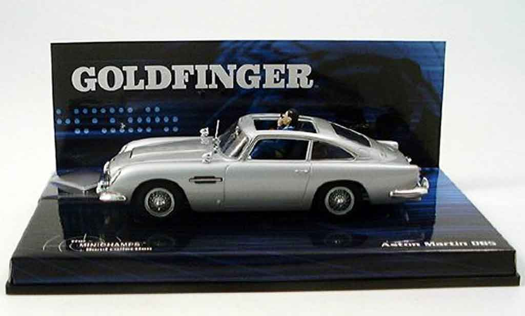 Aston Martin DB5 1/43 Minichamps goldfinger james bond collection miniature