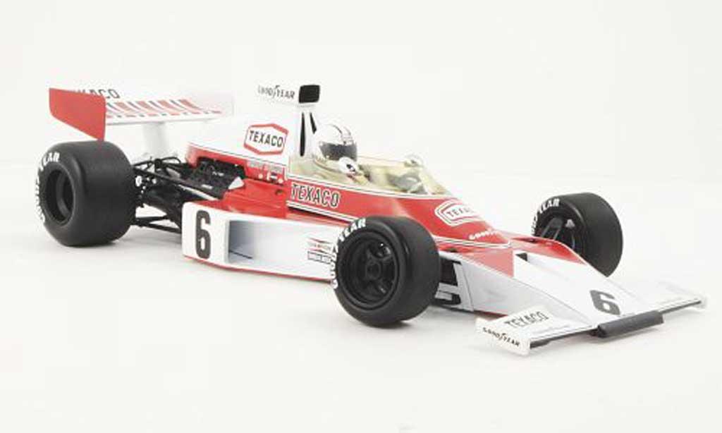 McLaren F1 1974 1/18 Minichamps Ford M23 No.6 Texaco D.Hulme
