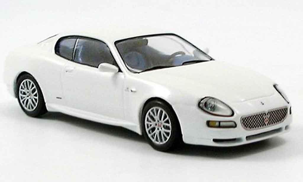 Maserati Cambiocorsa coupe 1/43 IXO grand sport  white diecast
