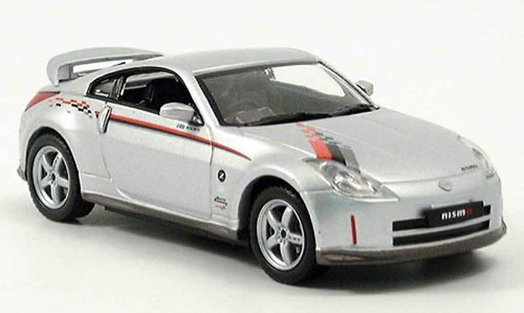 Nissan 350Z 1/43 J Collection JGTC Z Nismo S Tune grise metallisee miniature