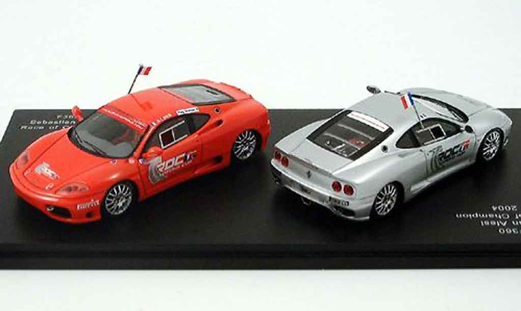 Ferrari 360 Modena 1/43 Red Line set loeb alesi 2004 diecast model cars