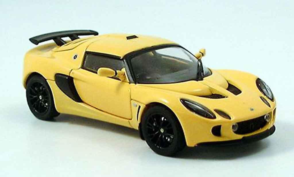 Lotus Exige 1/43 Autoart mkii jaune 2005 miniature