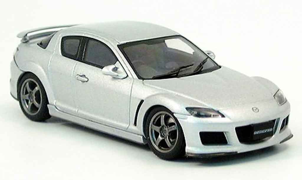 Mazda RX8 1/43 Autoart Speed RX 8 gray metallisee 2004 diecast