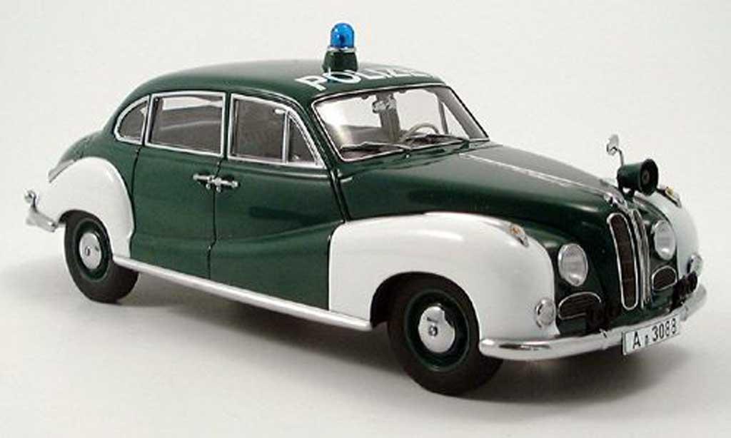 Bmw 501 1/18 Autoart police miniature