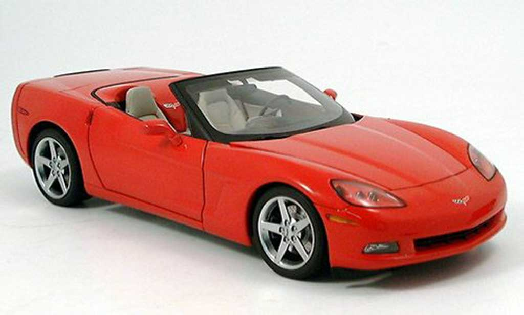 Chevrolet Corvette C6 1/18 Autoart convertible (c6) red diecast