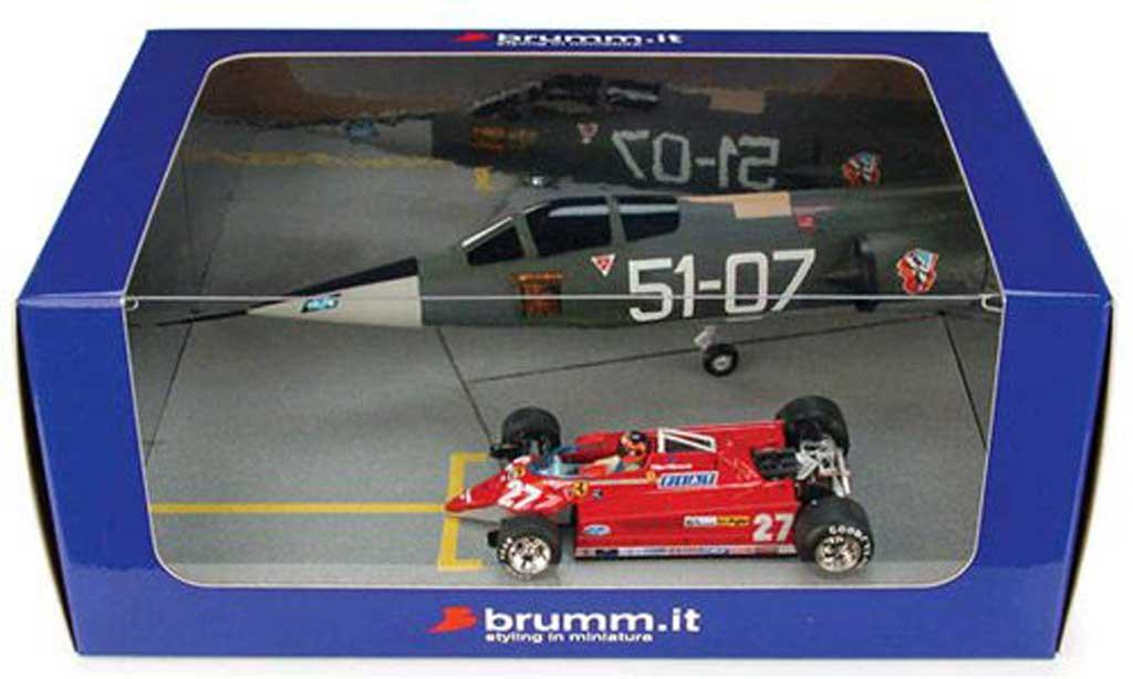 Ferrari 126 1981 1/43 Brumm CK Turbo Starfighter Duel Villeneuve miniature