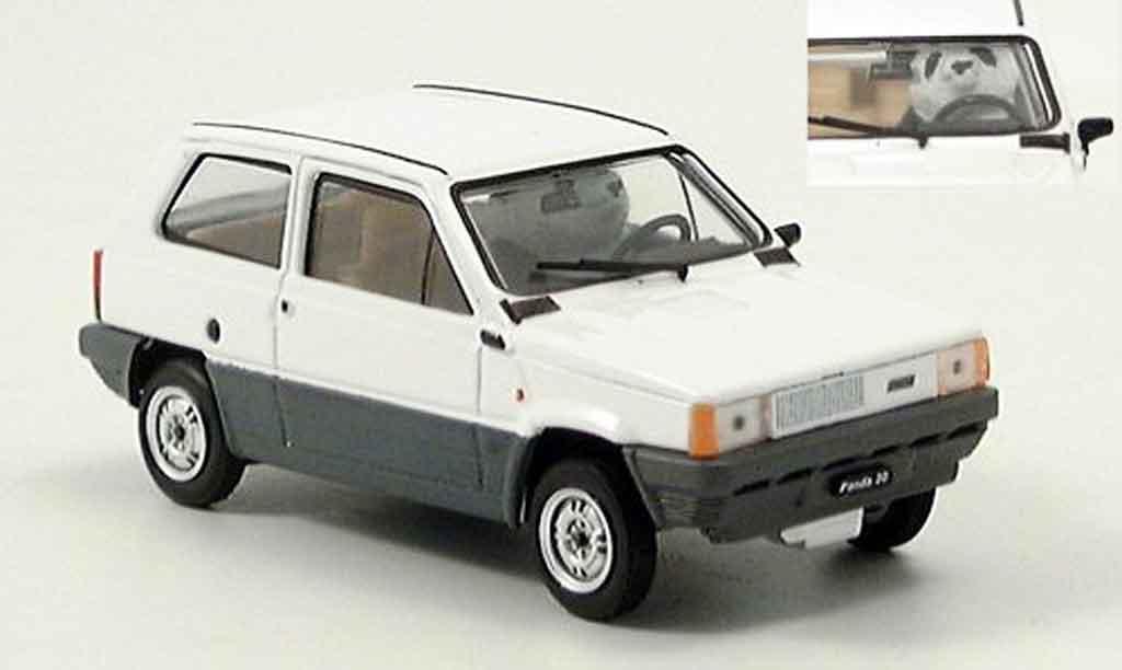 Fiat Panda 1/43 Brumm 30 on Board 1980 miniature
