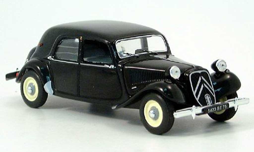 Citroen Traction 11 1/43 Nostalgie B black 1953 diecast