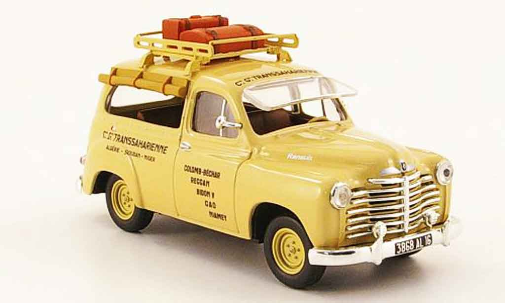 Renault Colorale 1/43 Nostalgie savane taxi sahara 1950 diecast