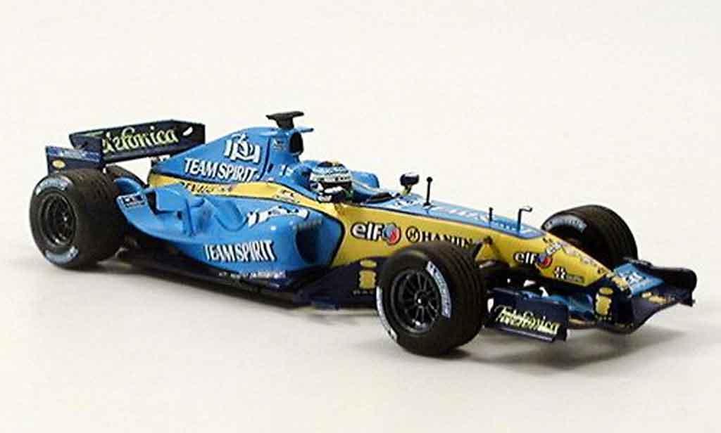 Renault F1 1/43 Minichamps f1 r25 fisica 2005 miniature