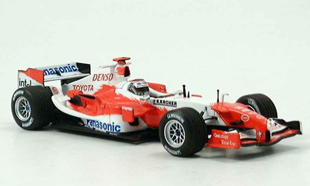 Toyota F1 1/43 Minichamps tf 105 panasonic trulli 2005 miniature