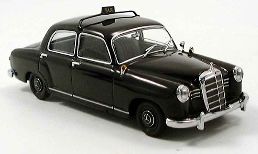 Mercedes 180 1/43 Minichamps Taxi black 1953 diecast model cars