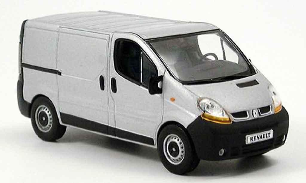 Renault Trafic 1/43 Norev dci 100 grise metalliseegrise kastenwagen miniature