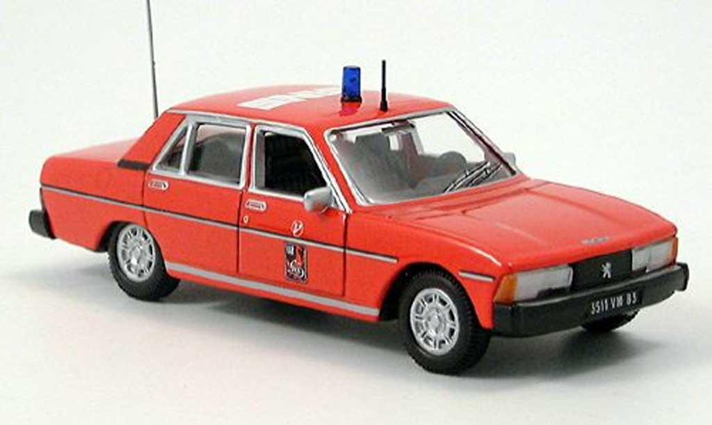 Peugeot 604 1/43 Norev pompiers