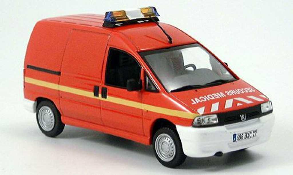Peugeot Expert 1/43 Norev pompier miniature