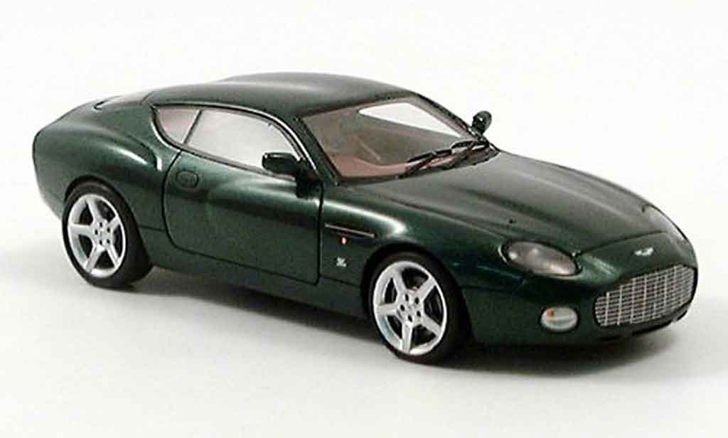 Aston Martin DB7 1/43 Spark zagato grun coupe 2003 miniature