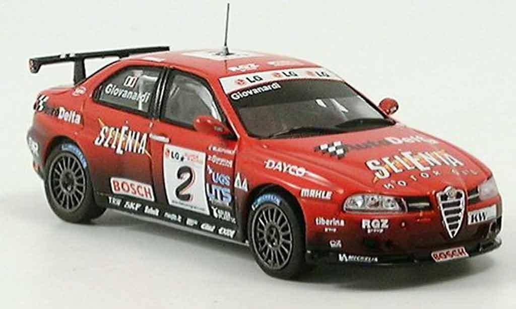 Alfa Romeo 156 GTA ETCC 1/43 Spark no.2 giovanardi 2004 diecast