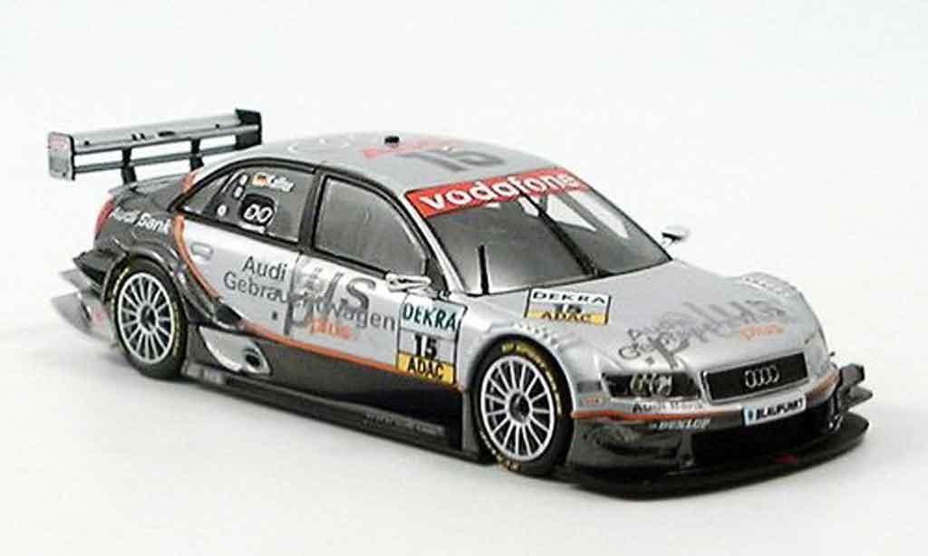 Audi A4 DTM 1/43 Minichamps Joest Racing Kaffer 2005 modellautos
