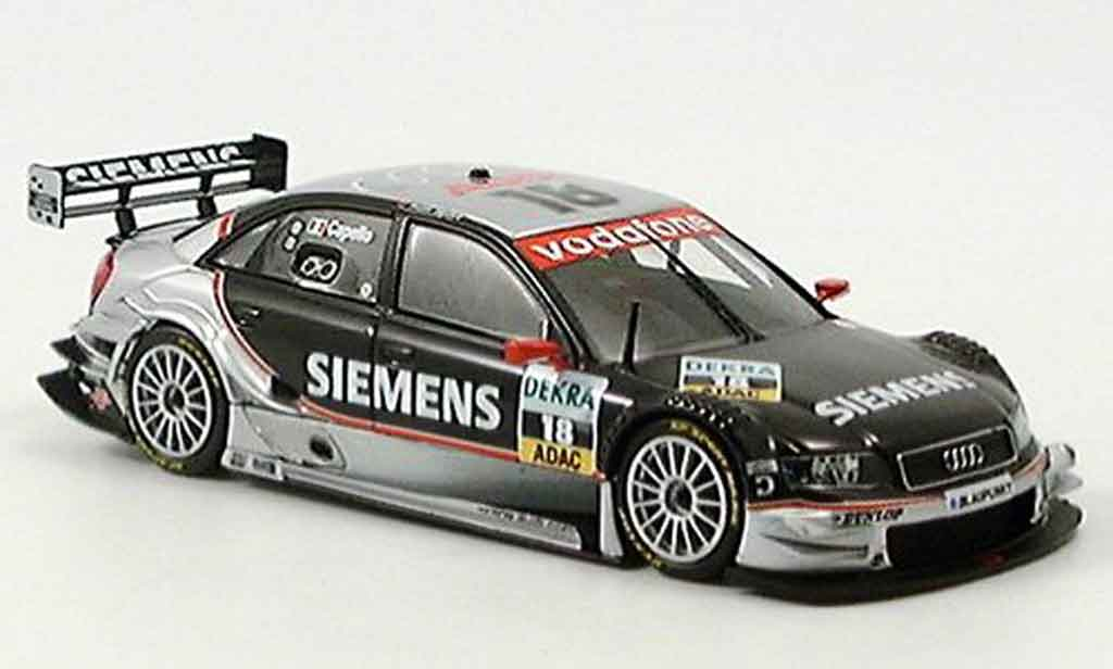 Audi A4 DTM 1/43 Minichamps Siemens Capello 2005 diecast model cars