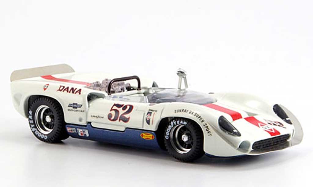 Lola T70 1967 1/43 Best Spyder Laguna Seca No.52 Revson 1967 miniature