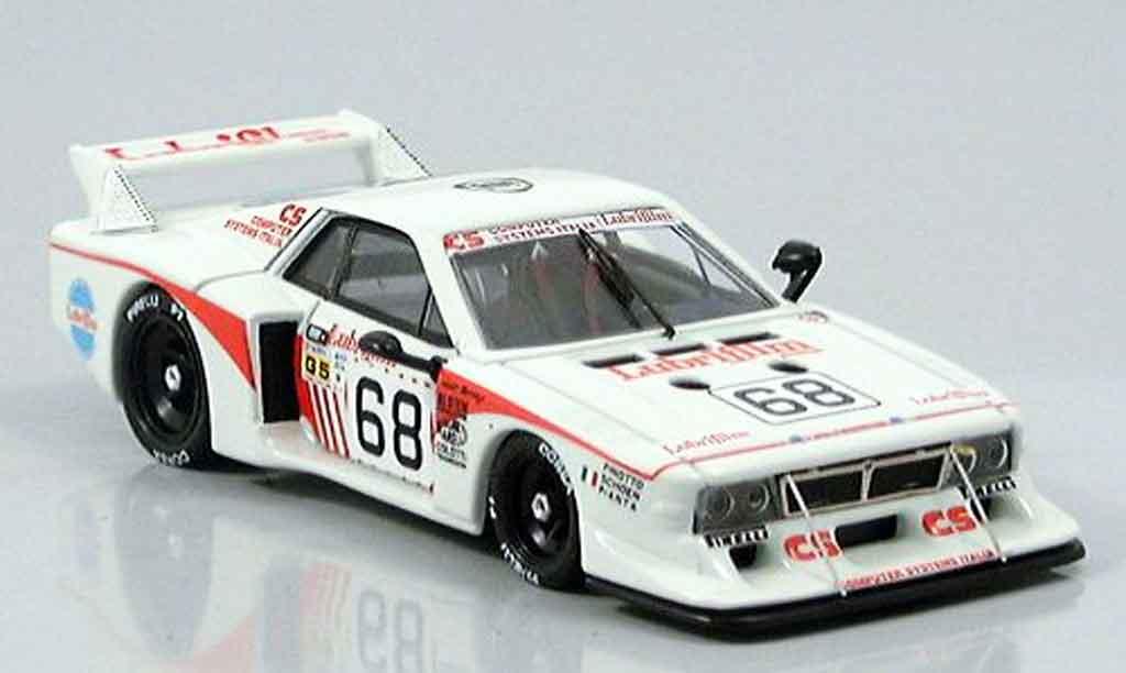 Lancia Beta Monte Carlo 1/43 Best lm no.68 finotto pianta 1981 miniature