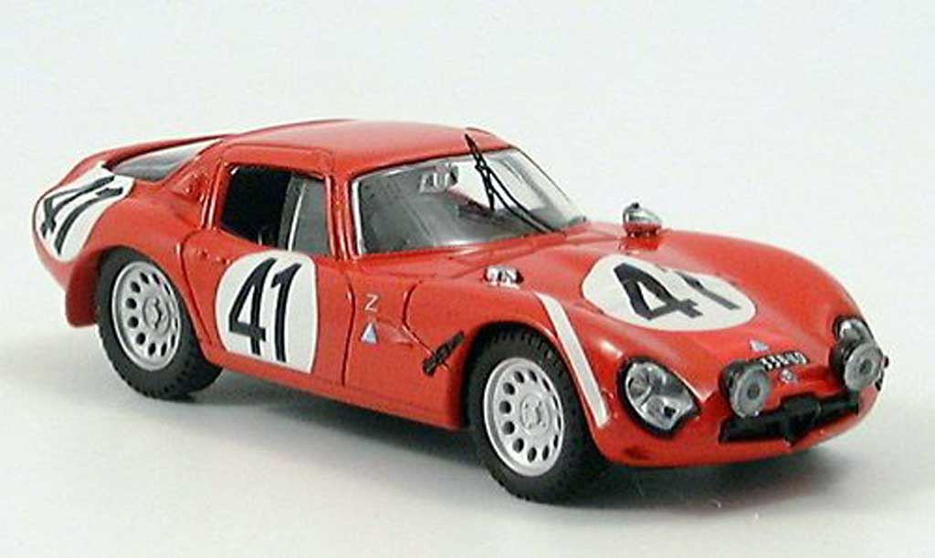 Alfa Romeo TZ2 1/43 Best LM Bussinello-Rolland 1965 miniature