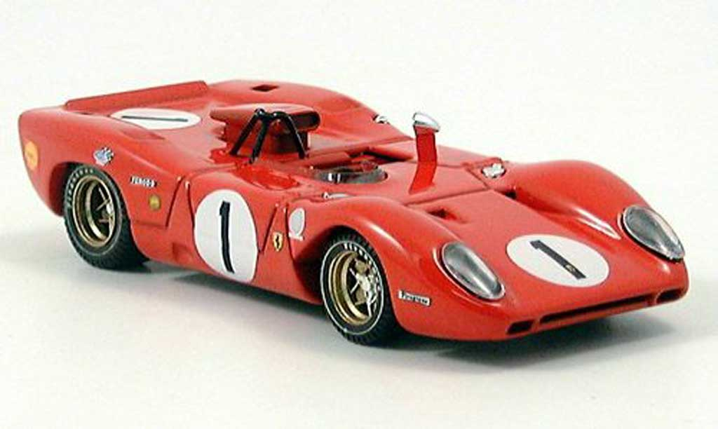 Ferrari 312 P 1/43 Best Spyder Monza Andretti-Amon 1969 miniatura