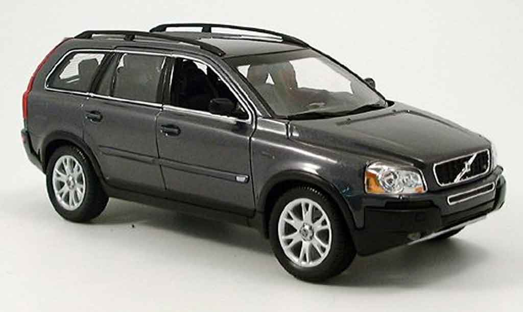 Volvo XC 90 1/18 Welly anthrazit 2003 miniature