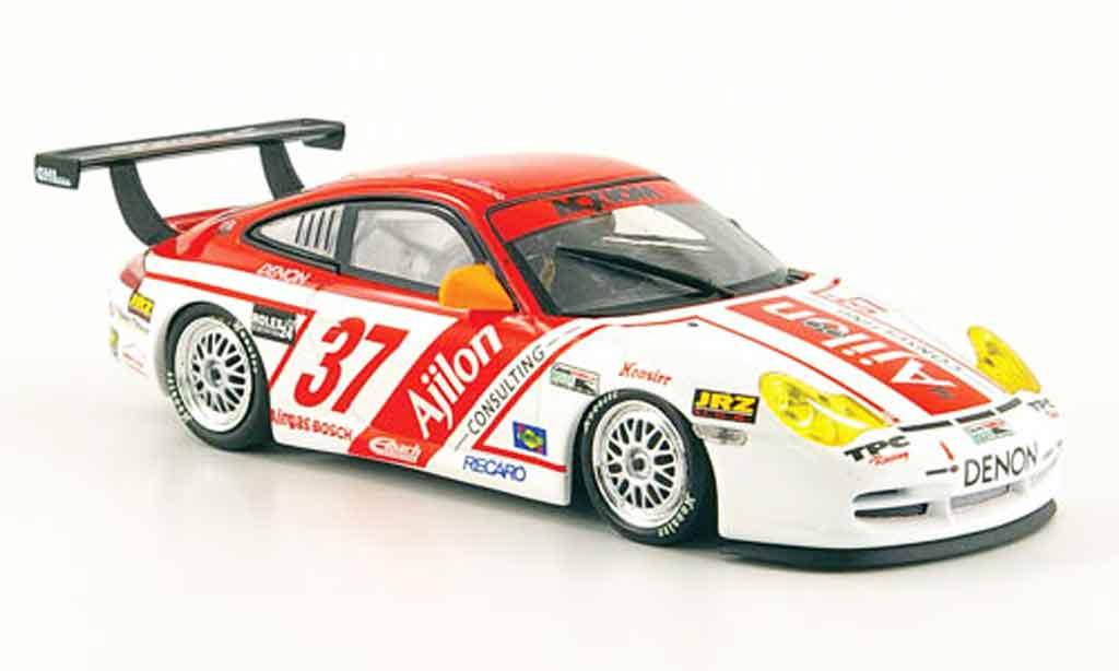 Porsche 996 GT3 Cup 1/43 Minichamps Matos Fitzger. Assent. Longhi Daytona 2005 miniature