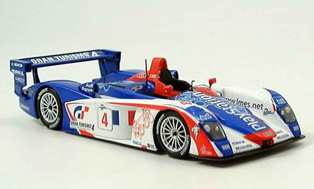 Audi R8 2005 1/43 Minichamps Spa Ortelli Gounon miniature