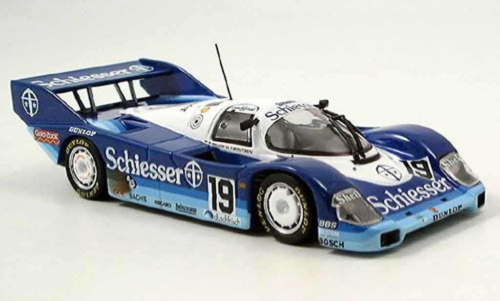 Porsche 956 1985 1/43 Minichamps K 1000 km Hockenheim Bellof Boutsen miniature