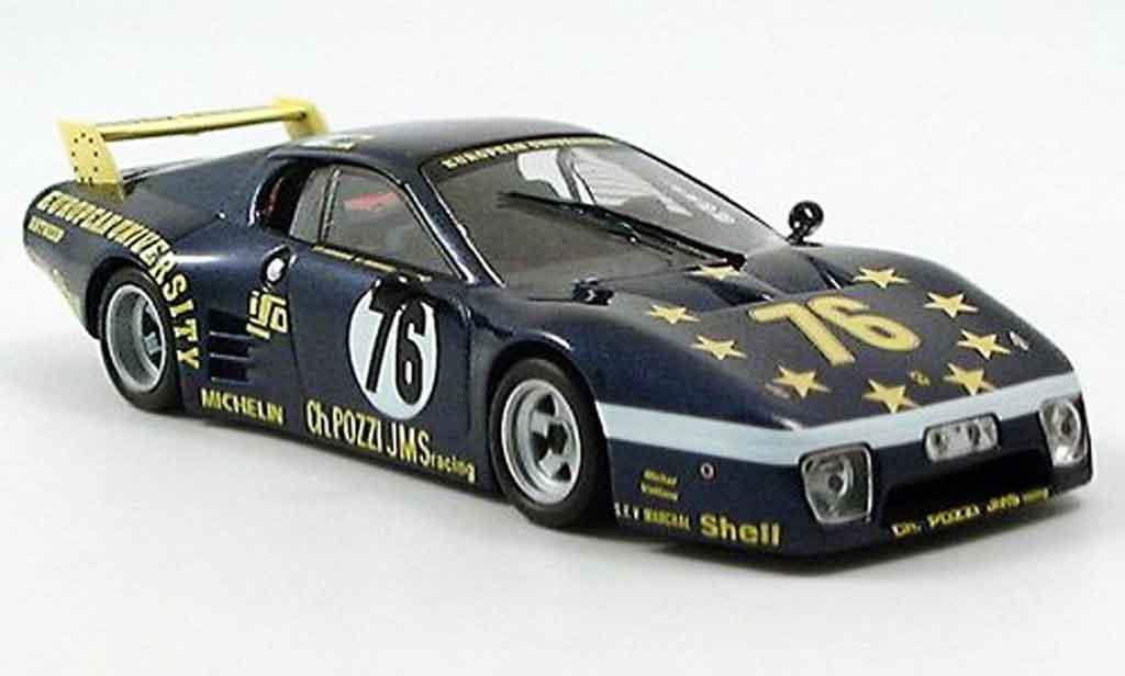 Ferrari 512 BB LM 1/43 IXO sieger lemans p.dieudonne j. xhenceval h 1980 coche miniatura