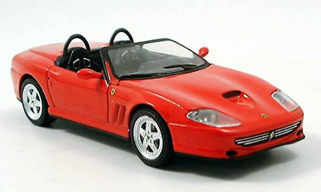 Ferrari 550 Barchetta 1/43 IXO rosso 2000 miniatura