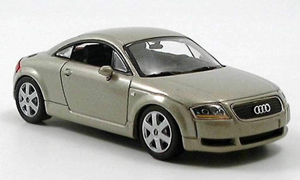 Audi TT 1/43 Minichamps beige 1999 miniature