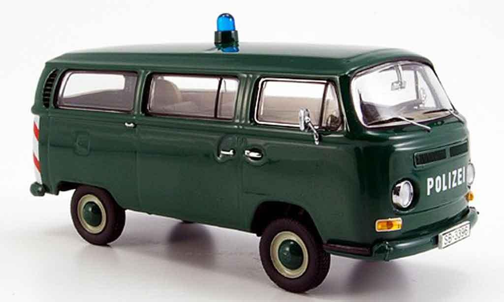 Volkswagen Combi 1/43 Schuco bus t2a police diecast