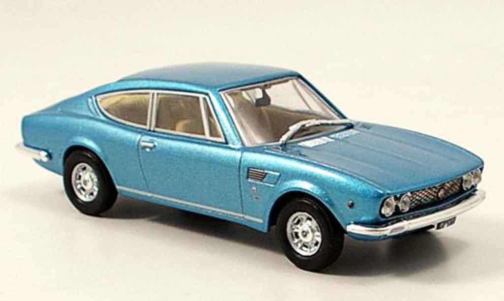 Fiat Dino 1/43 Norev Coupe bleu 1968 miniatura